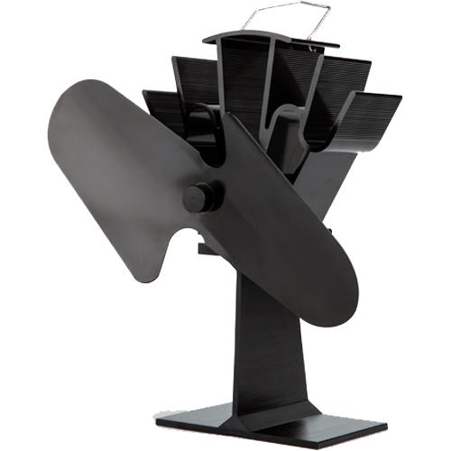 Stove Fan 2 Blade Black 23cm