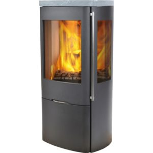 Senza soapstone top with side glass (Outside Air)