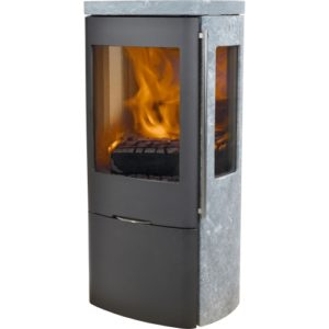 Senza full soapstone with side glass (Outside Air)