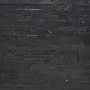 Single Tile - Black-Grey Slate Tile