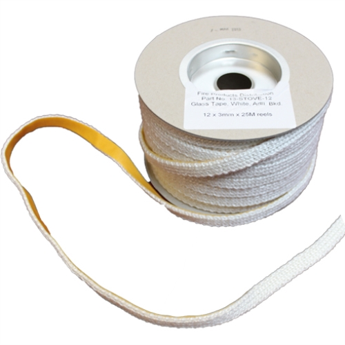 Self Adhesive Flat Tape - 12mm x 3mm thick