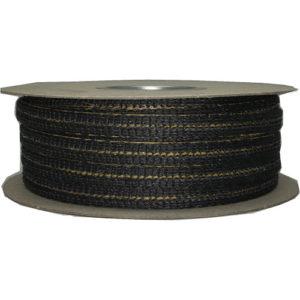 Glass Ladder Tape - Black - 15mm x 3mm